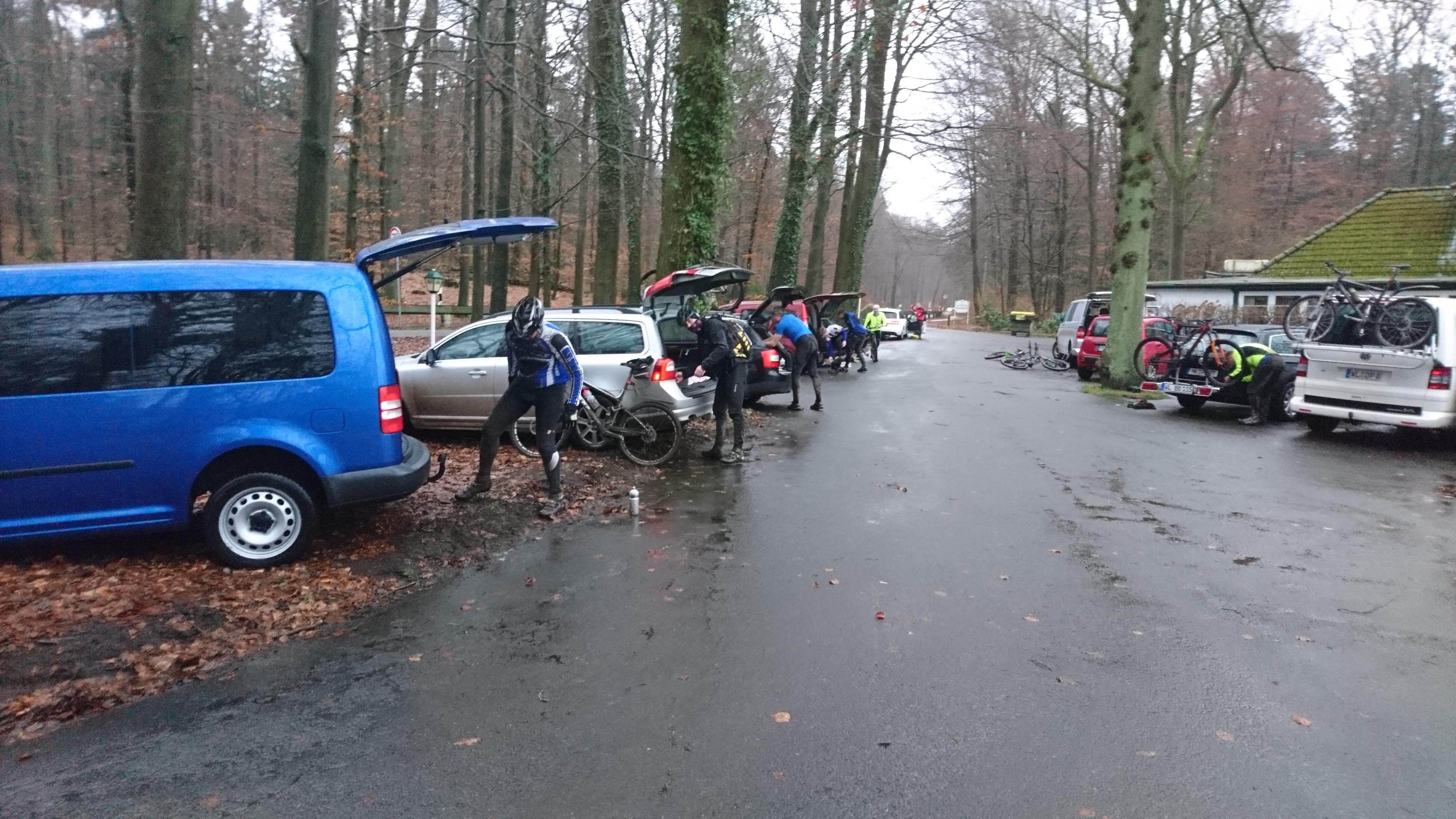Jahresabschlusstour mit dem MTB in den Harburger Bergen, 31 ...